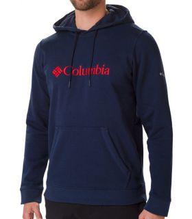 Sudadera Columbia CSC Basic Logo II Hoodie Hombre Armada Universitaria
