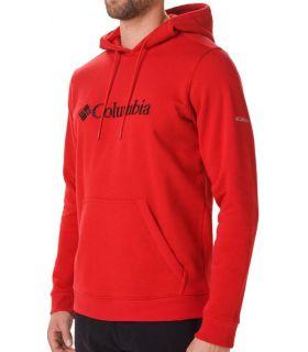 Sudadera Columbia CSC Basic Logo II Hoodie Hombre Montaña Roja