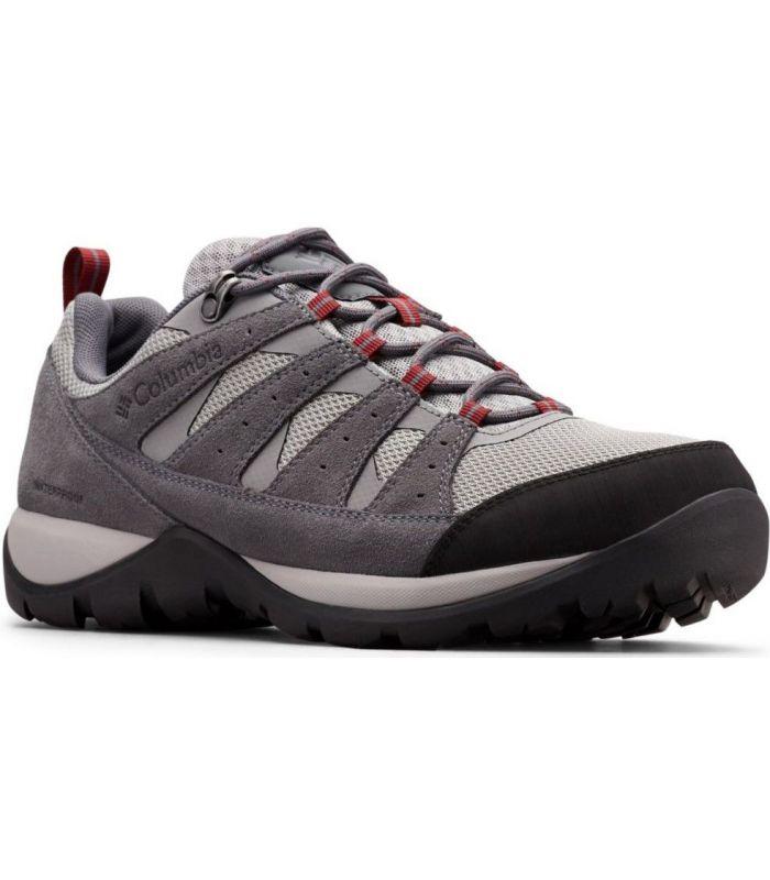 Compra online Zapatillas Columbia Redmond V2 Wp Hombre Monumento Jaspe Rojo en oferta al mejor precio