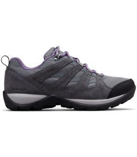 Zapatillas Columbia Redmond V2 Wp Mujer Acero Gris Ciruela Púrpura