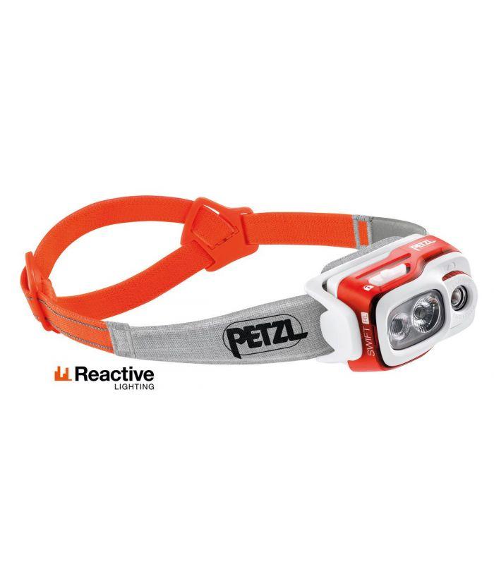 Compra online Frontal Petzl Swift Rl Naranja en oferta al mejor precio