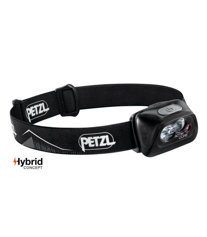 Compra online Frontal Petzl Actik Core Negro en oferta al mejor precio
