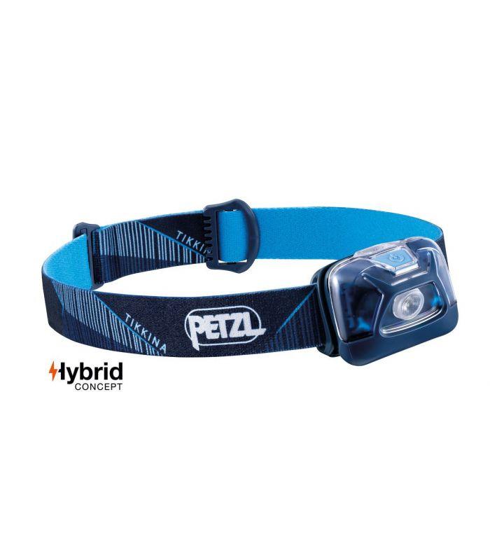 Compra online Frontal Petzl Tikkina Azul en oferta al mejor precio