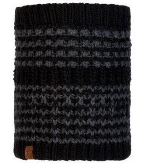 Calentador de Cuello de Punto y Polar Buff Kostik Negro. Oferta y Comprar online