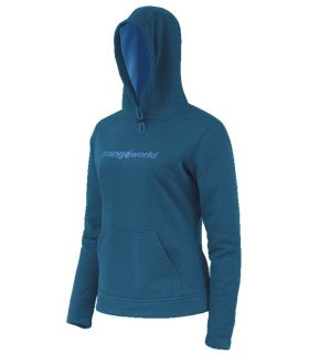 Sudadera trekking Trangoworld Wisla Mujer Azul