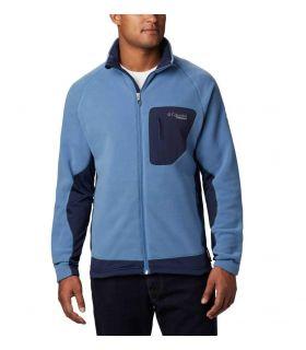 Chaqueta Columbia Titan Pass 2.0 II Fleeece Hombre Scout Blue. Oferta y Comprar online