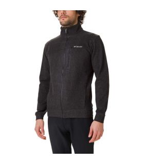 Polar Columbia Panorama Full Zip Hombre Negro