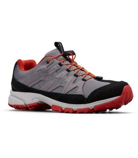 Zapatillas Columbia Five Forks WP Hombre Grey Steel