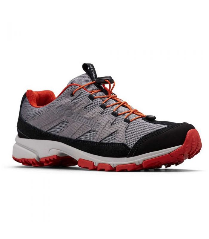 Compra online Zapatillas Columbia Five Forks WP Hombre Grey Steel en oferta al mejor precio