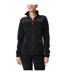 Chaqueta Columbia Panorama Pieced Fleece Full Zip Mujer Negro. Oferta y Comprar online