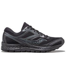 Zapatillas Saucony Cohesion 12 Hombre Negro. Oferta y Comprar online