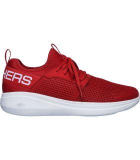 Zapatillas Skechers GoRun Fast Valor Hombre Rojo