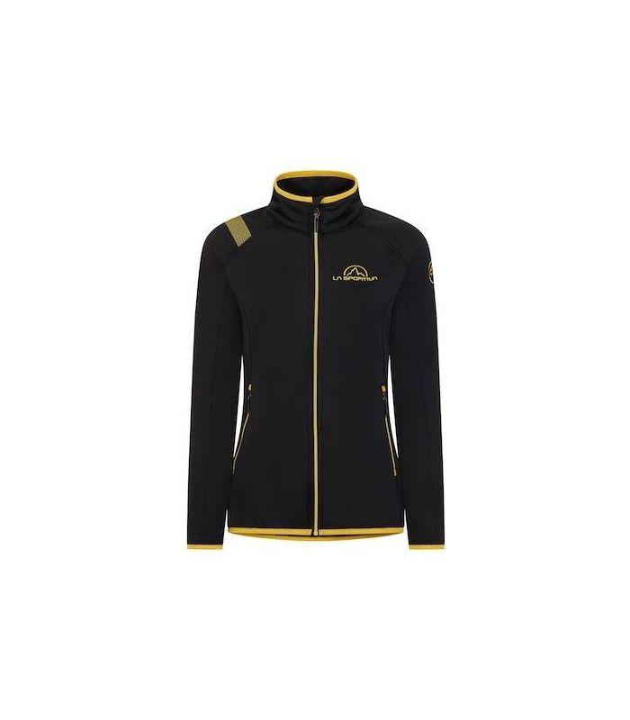 Compra online Chaqueta La Sportiva Promo Fleece Mujer Negro en oferta al mejor precio
