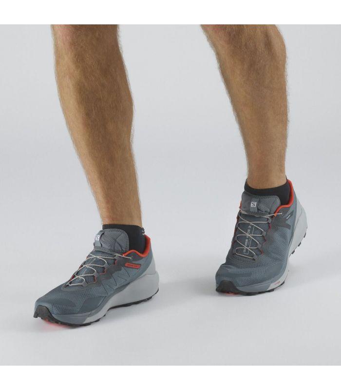 Compra online Zapatillas Salomon Sense Ride 3 Hombre Stormy Weather en oferta al mejor precio
