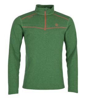 Camiseta Ternua Talok 1/2 Zip Hombre Ultramarine Green. Oferta y Comprar online