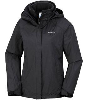 Chaqueta Columbia Venture On Interchange Jacket Mujer Negro. Oferta y Comprar online