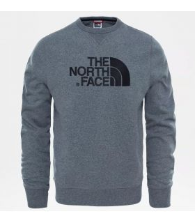 Sudadera The North Face Drew Peak Crew Hombre Medim Grey
