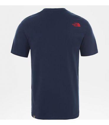 Camiseta The North Face SS Walls Climb Hombre Blue