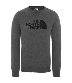 Sudadera The North Face Drew Peak Crew Light Hombre Grey. Oferta y Comprar online
