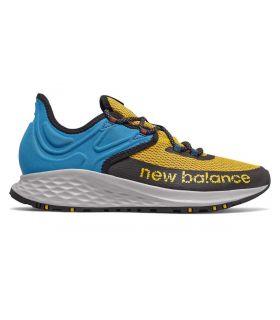 Zapatillas New Balance Fresh Foam Roav Trail Hombre Azul. Oferta y Comprar online