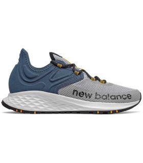Zapatillas New Balance Fresh Foam Roav Trail Hombre Gris. Oferta y Comprar online