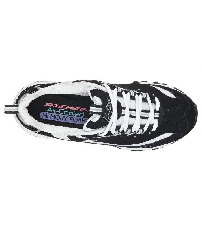 Compra online Zapatillas Skechers d'Lites Biggest Fan Mujer Negro en oferta al mejor precio