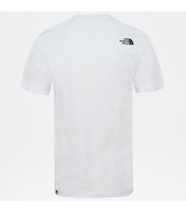 Camiseta The North Face SS Walls Climb Fiery White