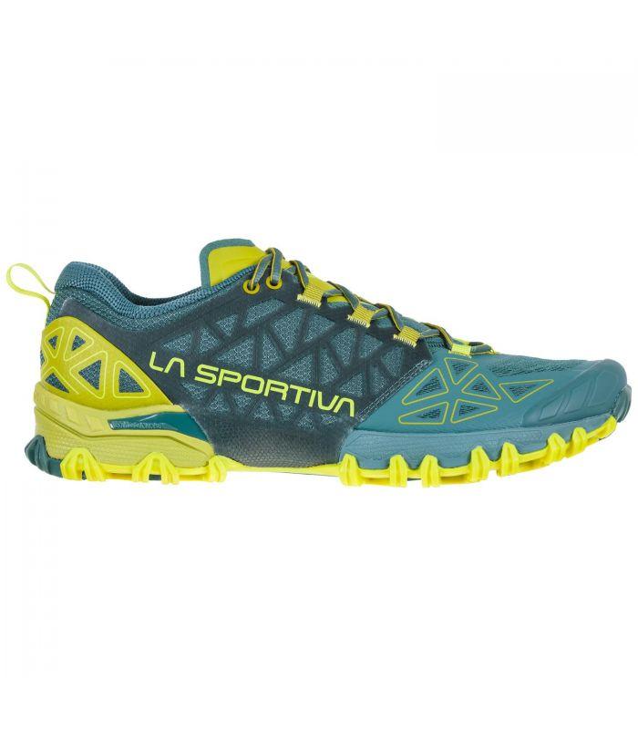 Compra online Zapatillas La Sportiva Bushido II Hombre Pine Kiwi en oferta al mejor precio
