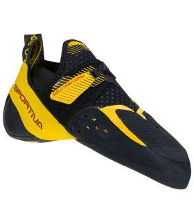 Pies de gato La Sportiva Solution Comp Hombre Black Yellow. Oferta y Comprar online