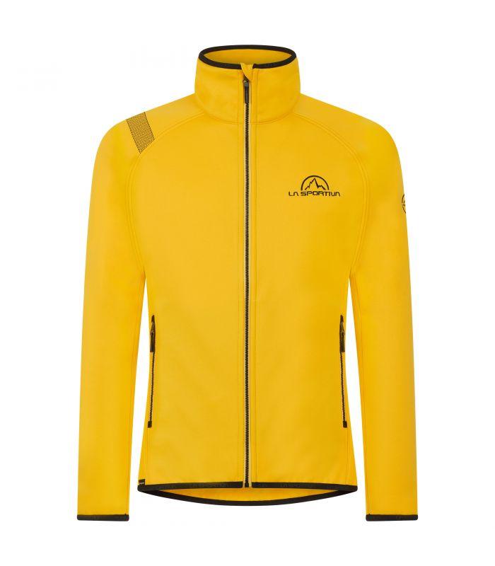Compra online Chaqueta La Sportiva Promo Fleece Hombre Amarillo en oferta al mejor precio