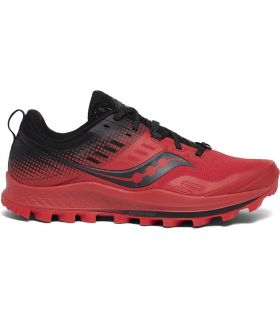 Zapatillas Saucony Peregrine 10 ST Hombre Red Black. Oferta y Comprar online