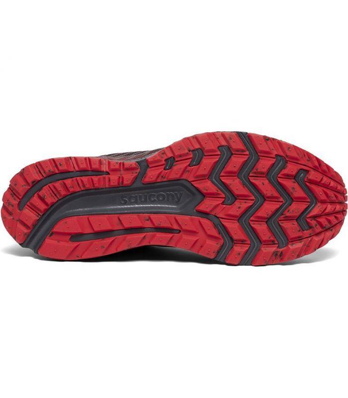 Compra online Zapatillas Saucony Guide 13 TR Hombre Black Red en oferta al mejor precio