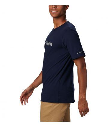 Camiseta Columbia CSC Basic Logo Hombre Collegiate Navy