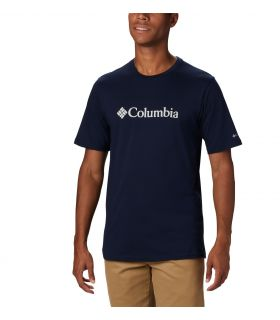 Camiseta Columbia CSC Basic Logo Hombre Collegiate Navy. Oferta y Comprar online
