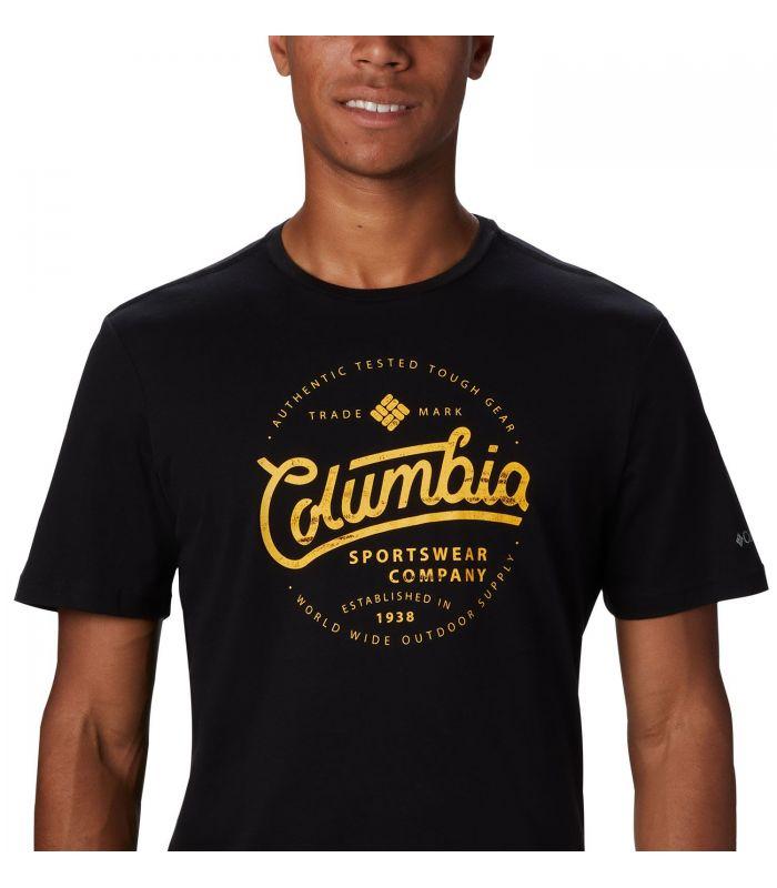 Camiseta Columbia M Path Lake Graphic Hombre Negro