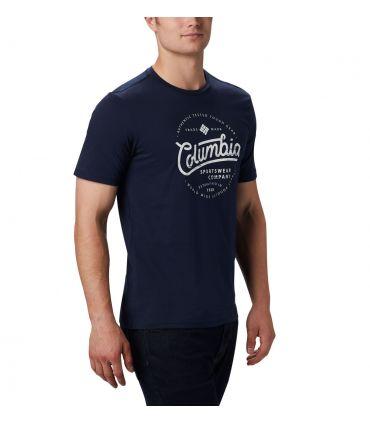 Camiseta Columbia M Path Lake Graphic Hombre Navy