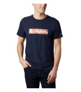 Camiseta Columbia M Rapid Ridge Graphic Hombre Collegiate Navy. Oferta y Comprar online