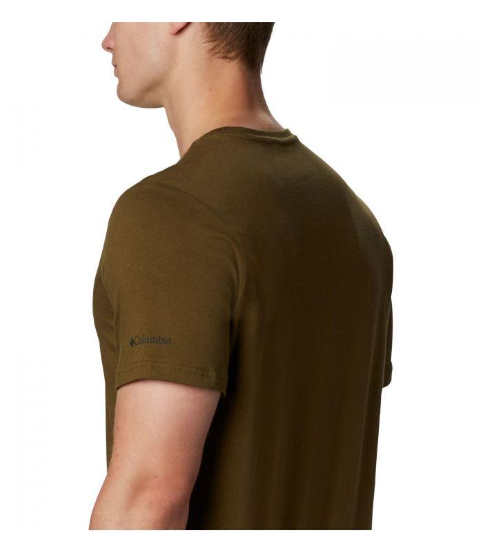 Camiseta Columbia M Path Lake Graphic Hombre Olive