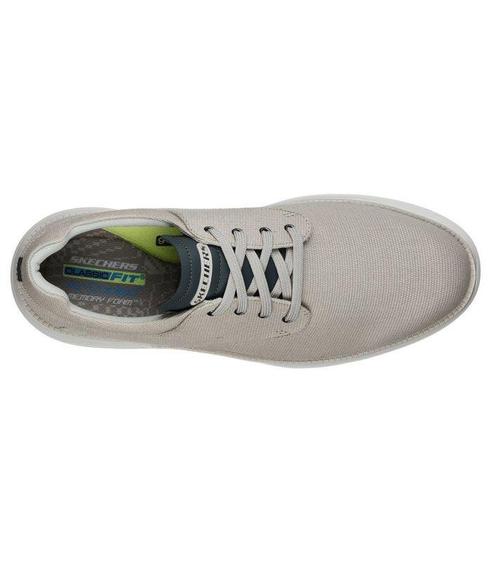 Compra online Zapatillas Skechers Status 2.0 Hombre Marron en oferta al mejor precio