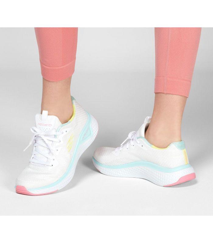 Zapatillas Skechers Solar Fuse-Brisk Escape Mujer White