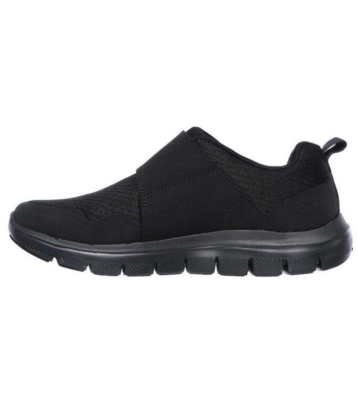 Compra online Zapatillas Skechers Flex Advantage 2.0 Hombre Negro en oferta al mejor precio