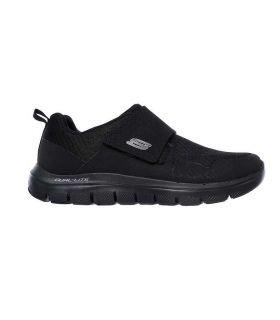 Zapatillas Skechers Flex Advantage 2.0 Hombre Negro. Oferta y Comprar online