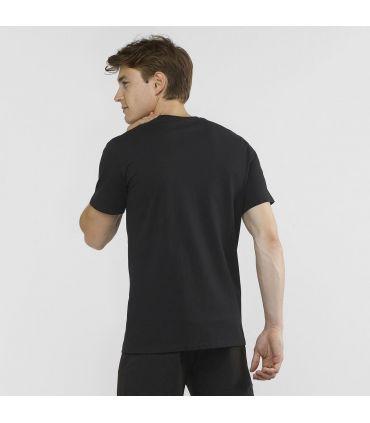 Camiseta Salomon MC Coton Logo SS Tee Hombre Black W