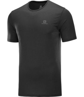 Camiseta Salomon MC Agile Training Tee Hombre Negro
