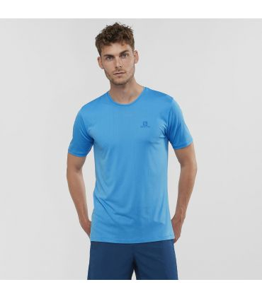 Camiseta Salomon MC Agile Training Tee Hombre Vivid