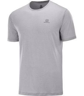 Camiseta Salomon MC Agile Training Tee Hombre Alloy