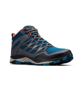 Botas Columbia Wayfinder Mid Outdray Mujer Azul