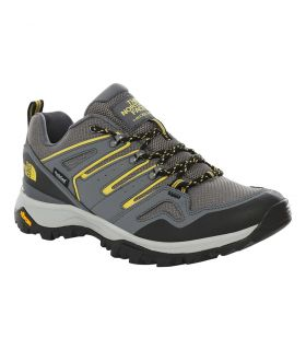 Zapatillas The North Face Hedgehog Fastpack II Hombre Gris Amarillo. Oferta y Comprar online