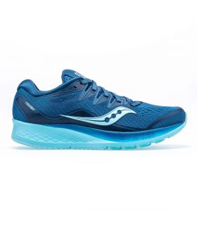 Saucony Ride ISO 2 Azul royal Mujer