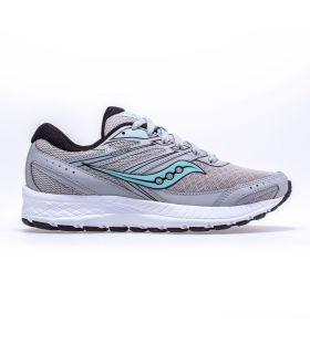 Saucony Cohesion 13 Gris claro Mujer